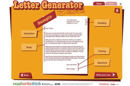 Tool gratis lettera generator online for Generatore di piano di pavimento online gratuito