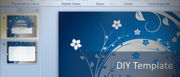 Cómo Hacer Una Plantilla De Powerpoint En Ms Powerpoint 2010 Diy