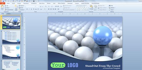 Powerpoint Templates 3d