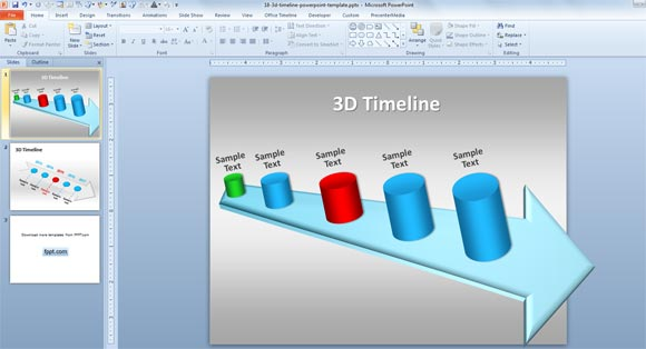 Free Download 3d Powerpoint Presentation Templates