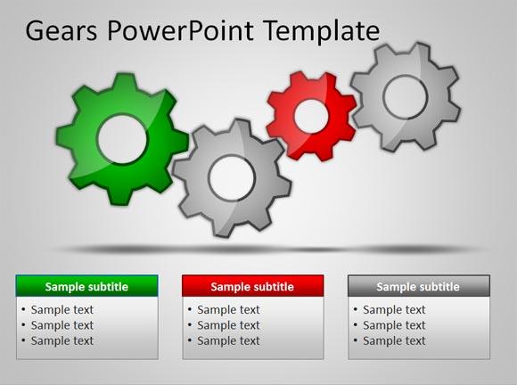 Gears Powerpoint Template