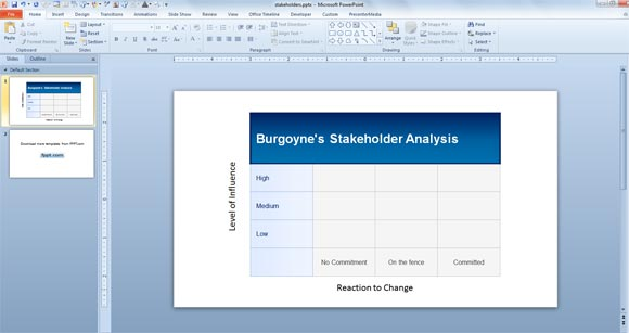 How To Make A Template In Powerpoint 2010