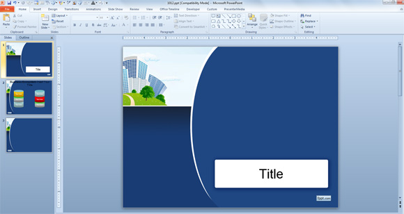 Elegant powerpoint templates free download