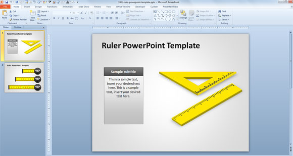 Design Template Powerpoint 2007