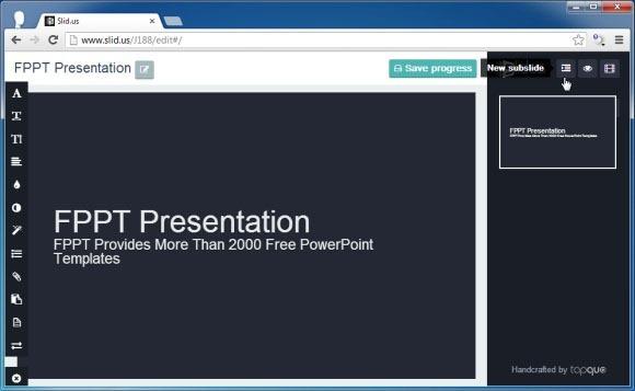 slidusとオンライン 編集 共有アニメーションプレゼンテーションを作成