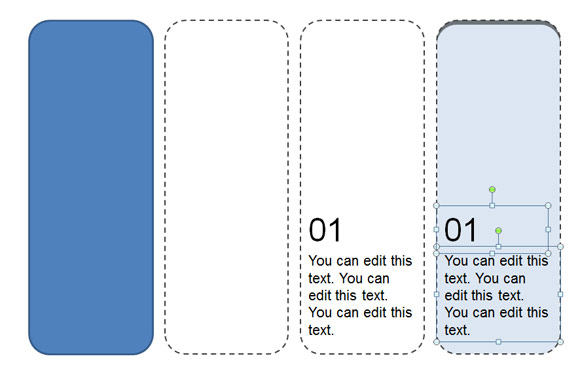 powerpointのための印刷可能なブックマークのテンプレートを作成する方法