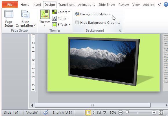 Widescreen Powerpoint Templates