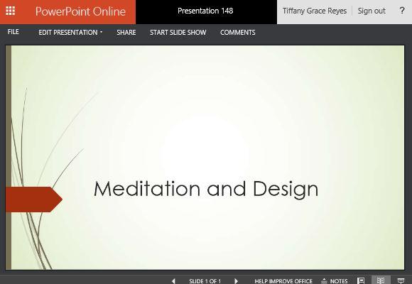 Online Powerpoint Template