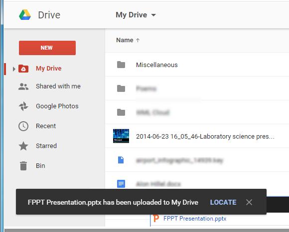googleスライド形式にpowerpointのファイルを変換する方法