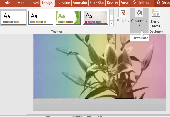 Change the spellchecking language on a PowerPoint