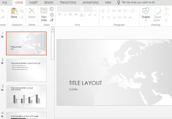 Tutorial do powerpoint template free europe map powerpoint toneelgroepblik Image collections