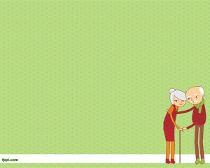 Elderly PowerPoint Template