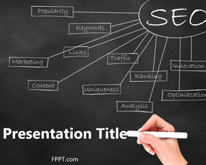 Template gratuit Analiza SEO PowerPoint