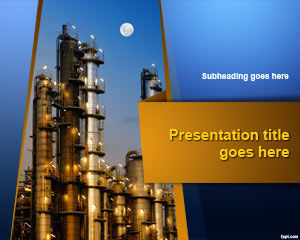 Template Tanaman Industri PowerPoint
