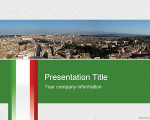 Template PowerPoint Italia