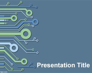 Electronic PowerPoint Template