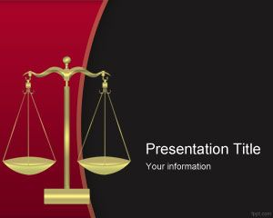 Template Criminal Justice PowerPoint