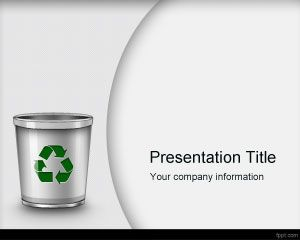 Waste Management PowerPoint Template
