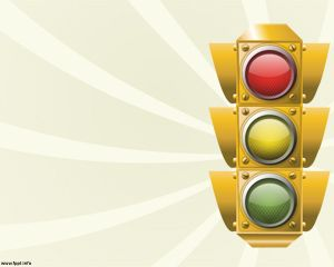 Traffic Lights PowerPoint Template