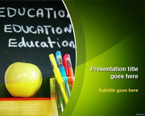 Template Pendidikan Sekolah Powerpoint Powerpoint Template Free Download