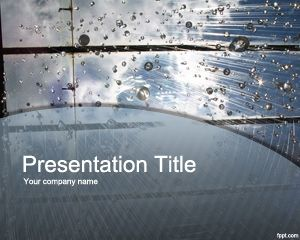L'acqua piovana PowerPoint Template