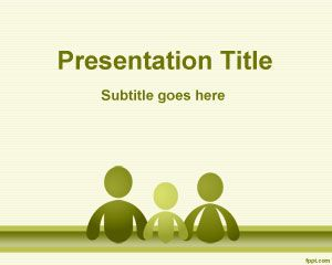 Family Social Sciences PowerPoint Template