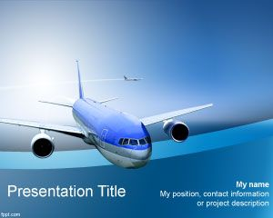 Airline PowerPoint Template