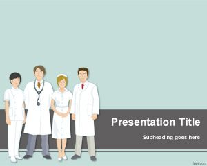Template Tim Medis PowerPoint