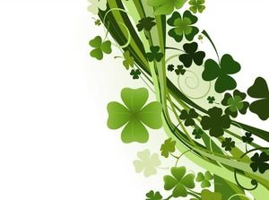 Lucky Clover PPT Background