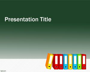 Folders PowerPoint Template