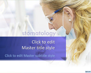 Free Stomatology PowerPoint Template