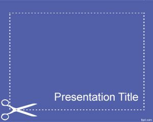 Slide Cutting PowerPoint Template