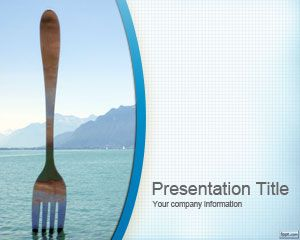 Fork PowerPoint Template