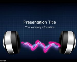Template Radio Musica PowerPoint