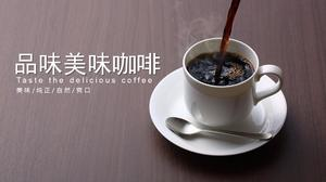 Simple coffee background