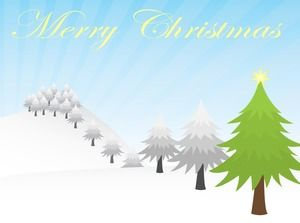 Merry Christmas Christmas Greeting Card Ppt Template 2 Sets Powerpoint Templates Free Download
