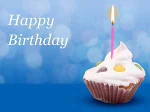 Happy Birthday Birthday Cake Ppt Template Powerpoint Templates Free Download