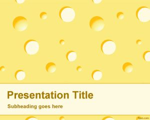 Cheese PowerPoint Template