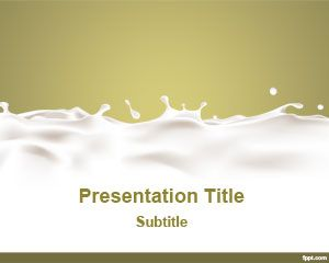 Dairy PowerPoint Template