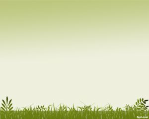 Grass Background PowerPoint Template