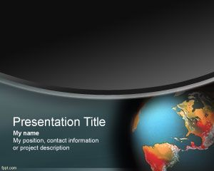 Global Warming PowerPoint Template