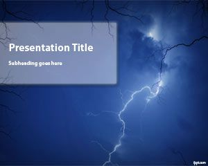 Badai PowerPoint Template