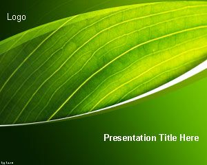 Template Nature Preservation PowerPoint