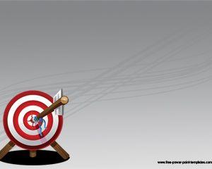 стрелка Target Powerpoint шаблон Powerpoint шаблоны скачать