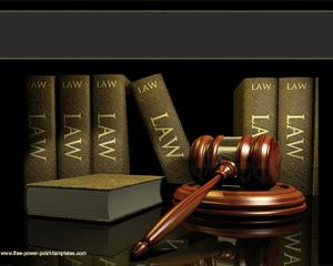 Gratis Hukum Powerpoint Template