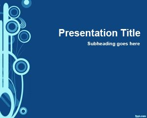 Blue Slide for PowerPoint