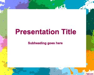 Canvas PowerPoint Template
