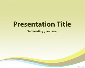 Go Green PowerPoint Template