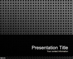 Plate PowerPoint Template