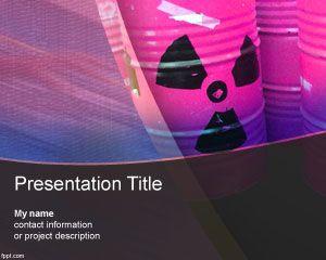 Toxic bin PowerPoint Template
